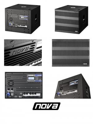 Self-Powered EX315SUB NOVA Audio
