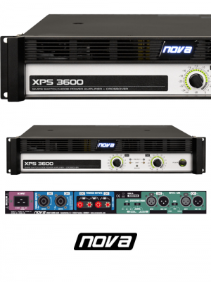 NOVA XPS 3600 Series Amplifier