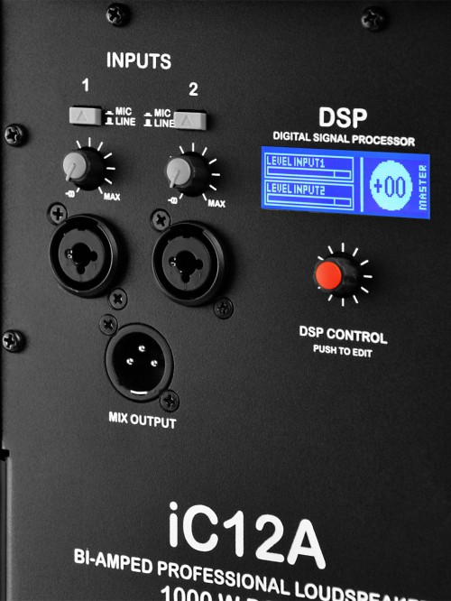 NOVA AUDIO iC12a DSP panel