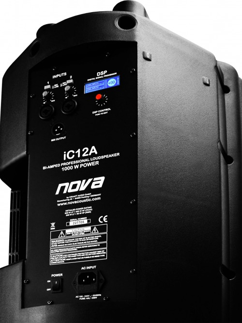 NOVA AUDIO iC12a Rear